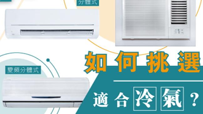 「Q1 點揀適合在香港使用的冷氣?」