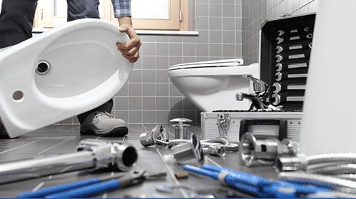 Step2:衛浴用具的拆卸回