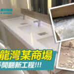 九龍灣某商場-洗手間翻新工程